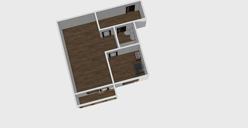 1-комн_0186_4 Interior Design Render