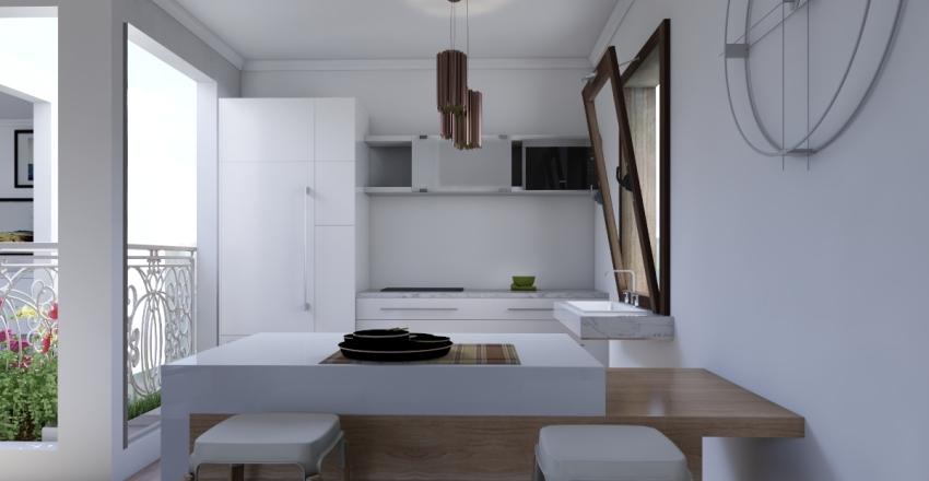 1er etage Interior Design Render