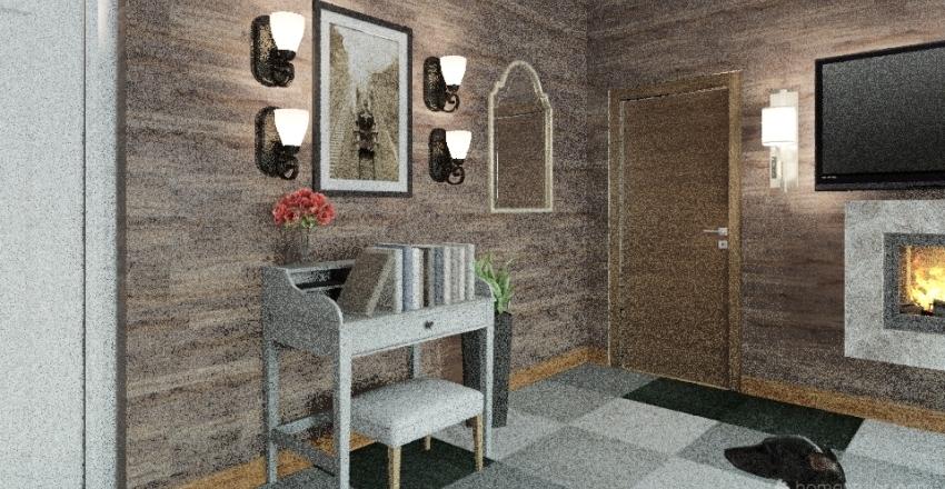 Rental Room  Interior Design Render