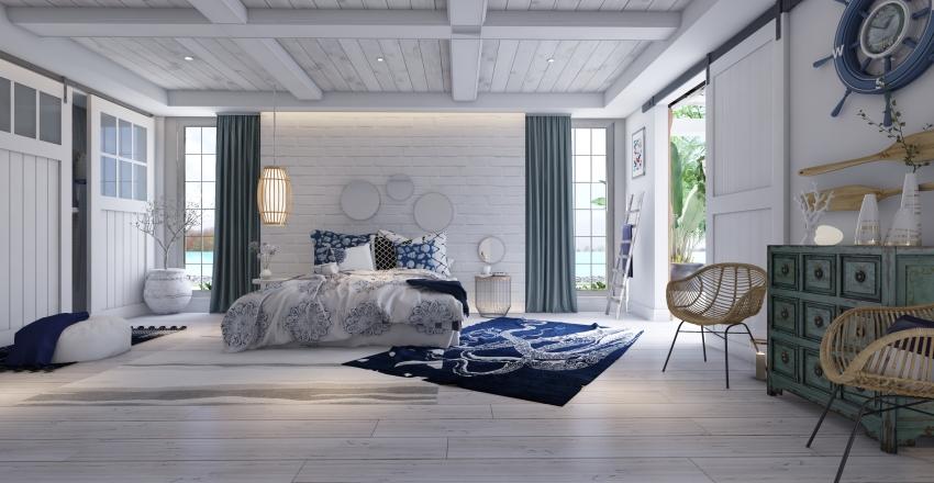 casetta mediterranea Interior Design Render