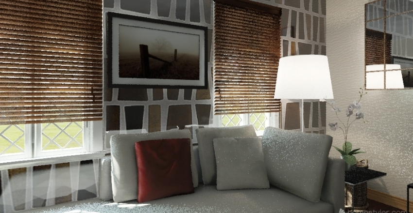 Relax Bedroom  Interior Design Render