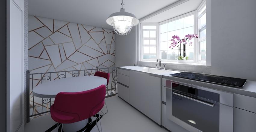 Soft Loft Interior Design Render