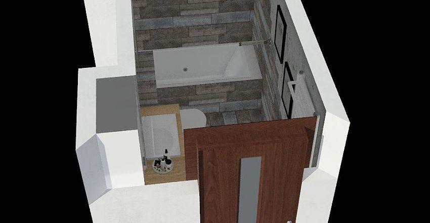 lazienka_bez_dekoru Interior Design Render