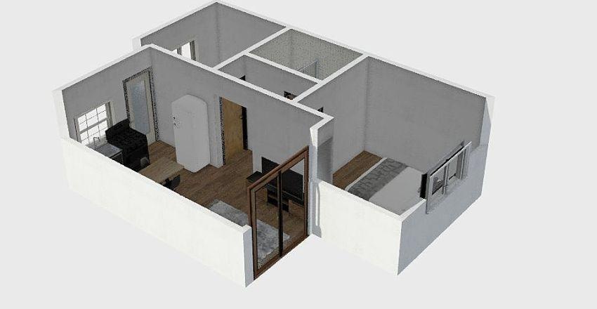 Casa 50m² Interior Design Render