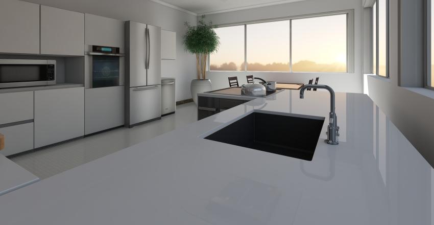 Área Gourmet Interior Design Render