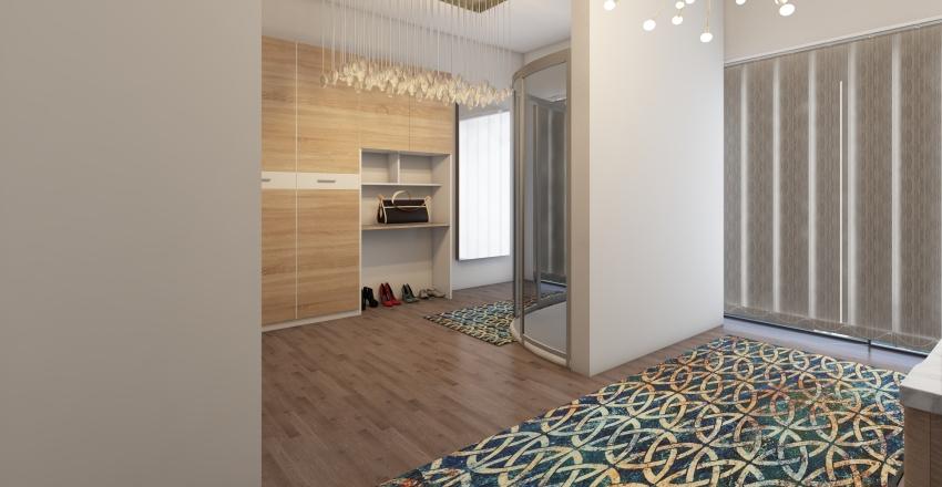 Bedroom Suite Interior Design Render