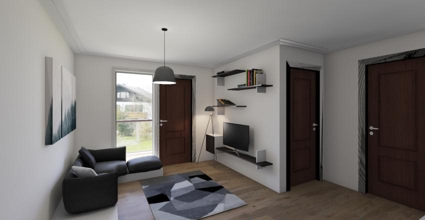 Unit 1 BR (B) Interior Design Render
