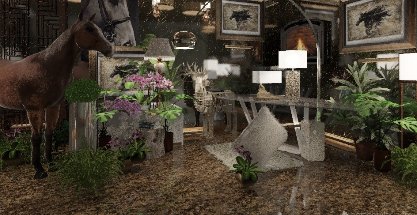Victoria's Wild Stallion Interior Design Render