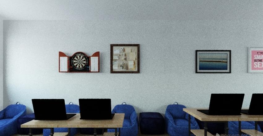 SALON EMP Interior Design Render