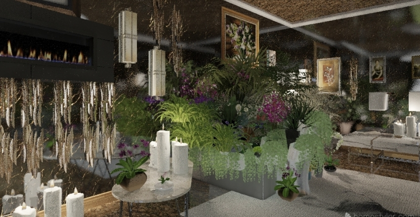 Victoria's Spa Interior Design Render