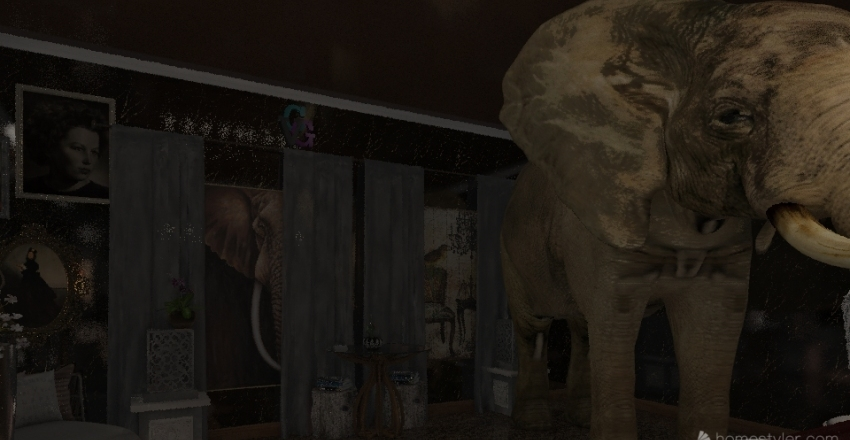 The Impossible Elephant Two  Interior Design Render
