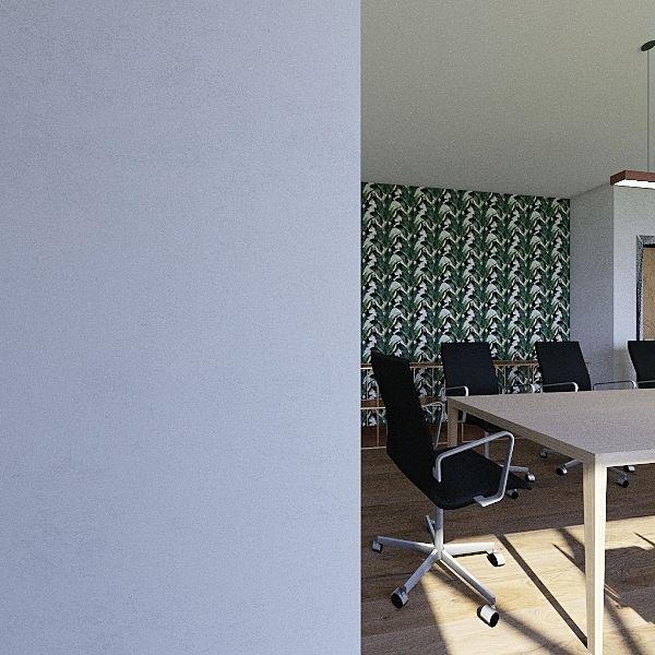 New Meeting Room Interior Design Render