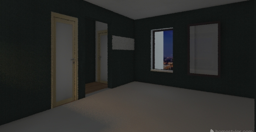 Kaels house Interior Design Render