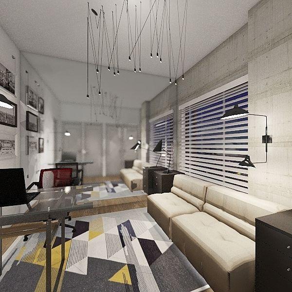 2019 B.L. OFFICE 3-C Interior Design Render