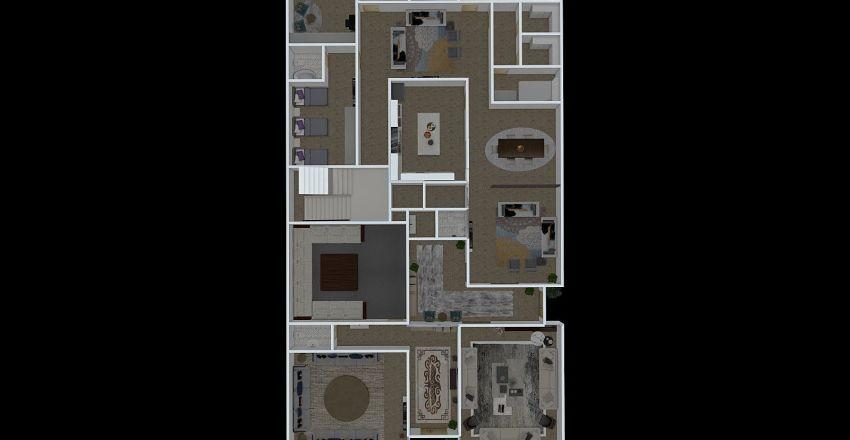 ام قصي Interior Design Render