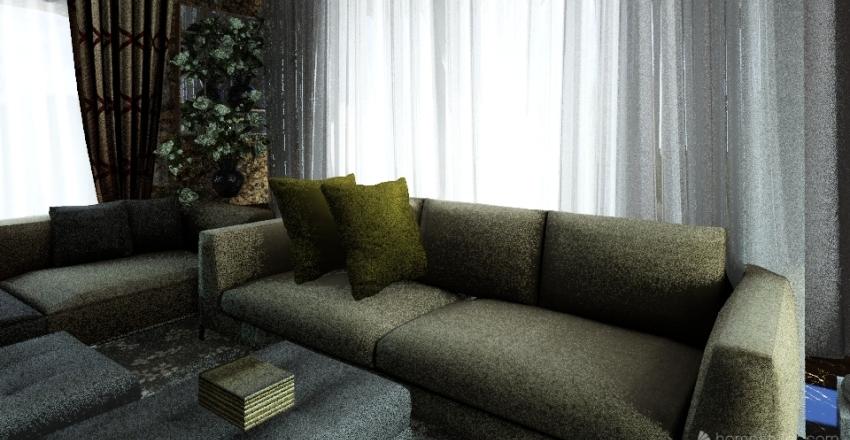 Indoor Solarium  Interior Design Render