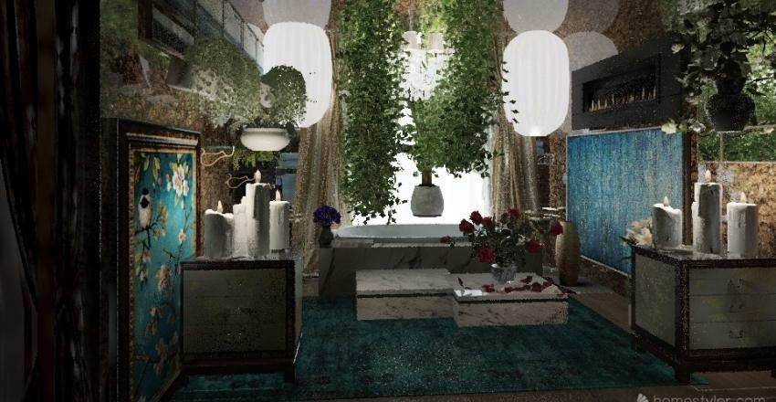 Alone Time Spa Interior Design Render