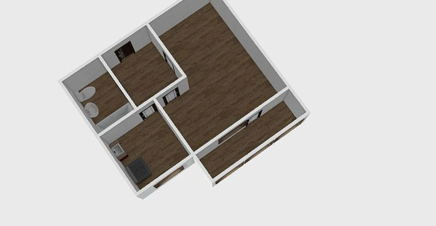 1-комн_0304 Interior Design Render