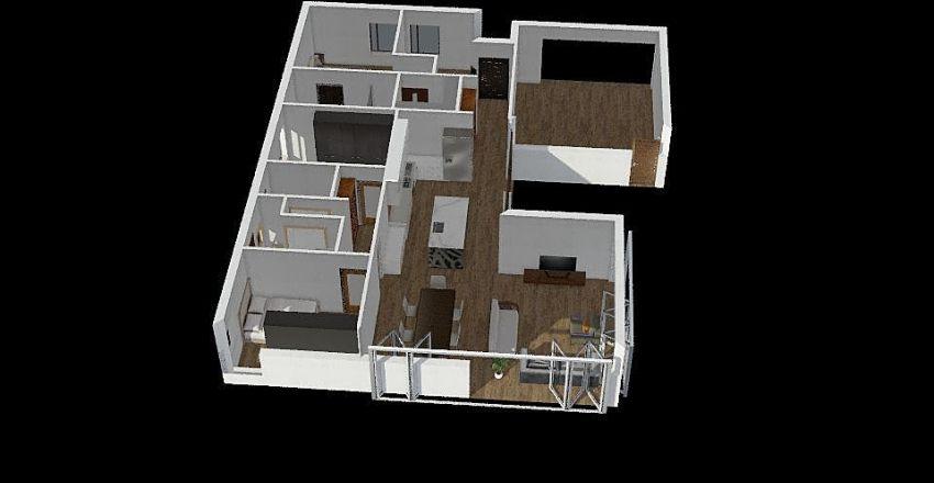 57 Jean St Interior Design Render