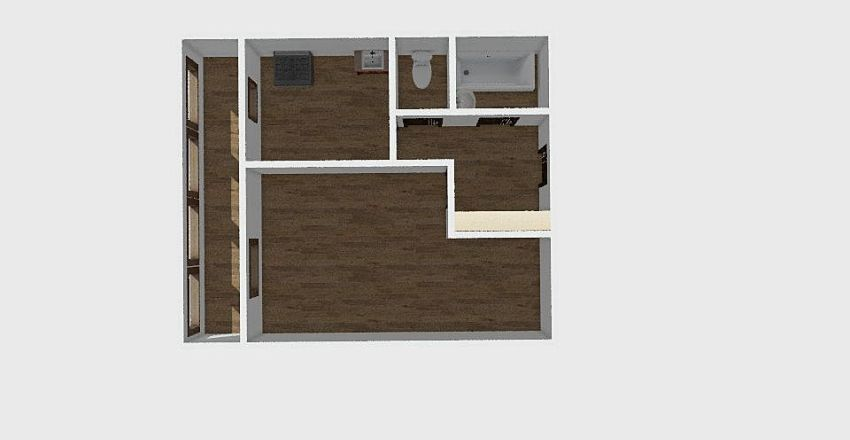1-комн_0305 Interior Design Render