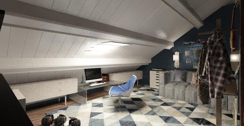 осоргино 1 Interior Design Render
