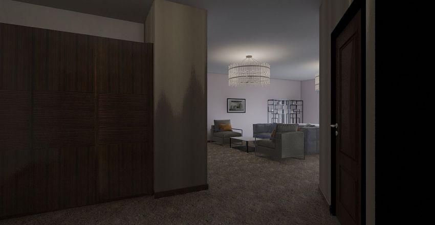 План первый квартиры_пробный Interior Design Render