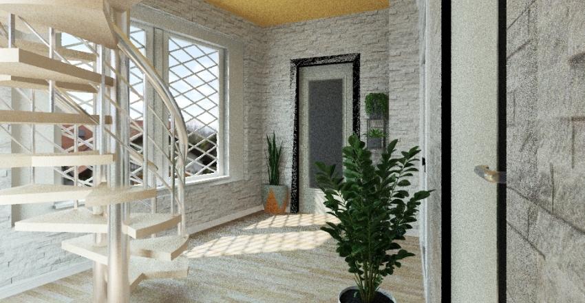 plan parter 1 Interior Design Render
