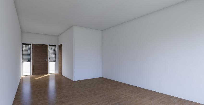 Studielejlighed Interior Design Render