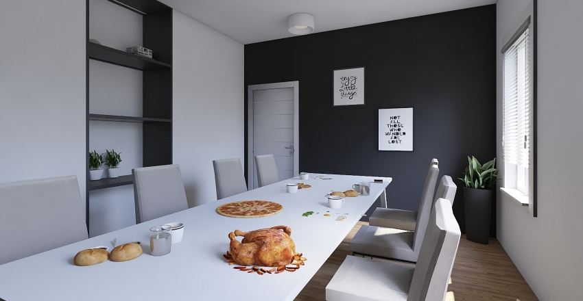 pokójdól nr11 Interior Design Render