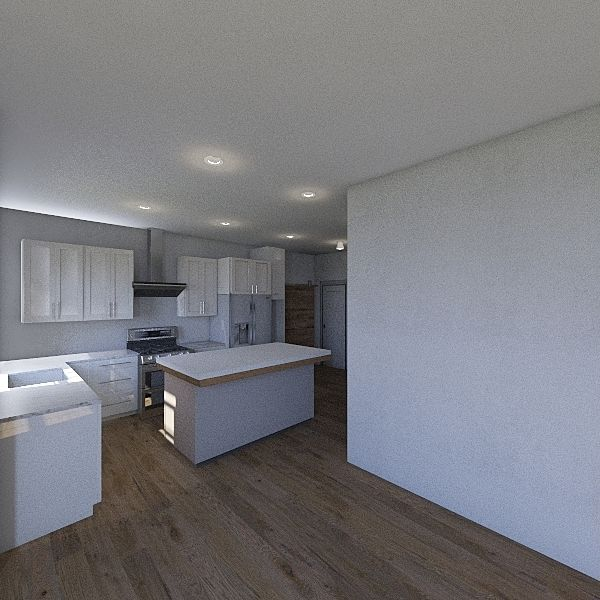 Renton_Kitchen_Flex Interior Design Render