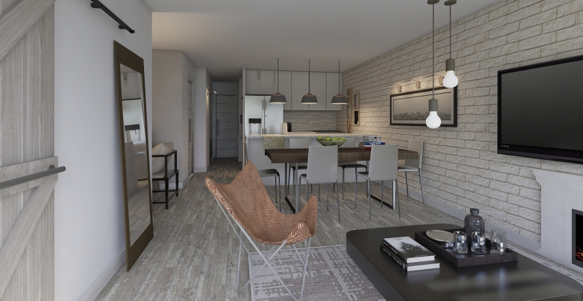 522 3rd Ave  Interior Design Render
