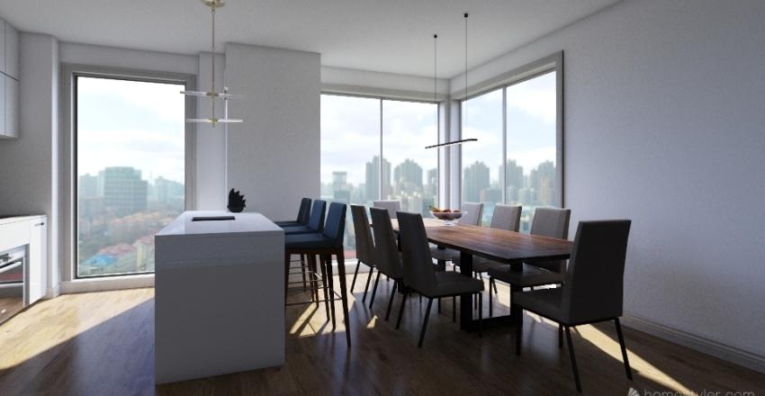 icaro table Interior Design Render