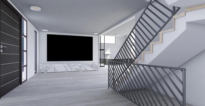 Bachelor Pad Interior Design Render