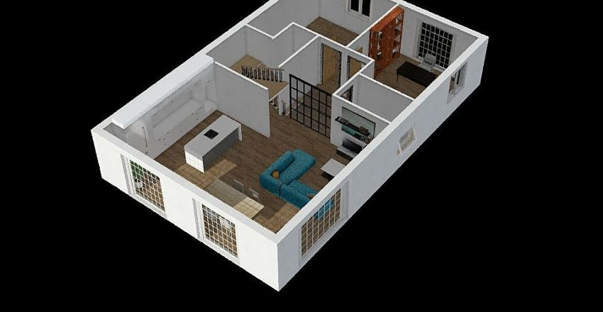 1º_REV1 Interior Design Render