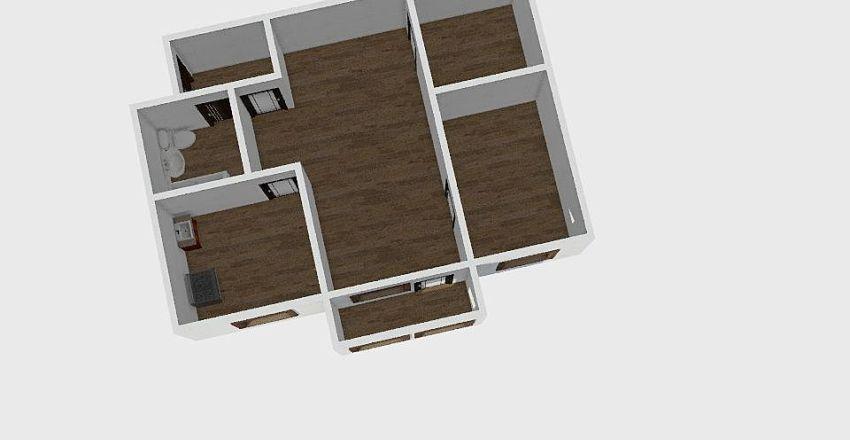 3-комн_001_4 Interior Design Render