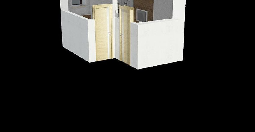 Dolná kúpeľňa Interior Design Render
