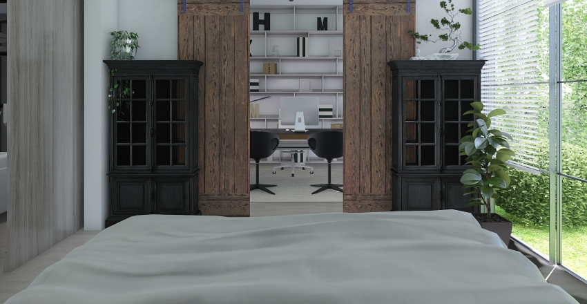 Summer cottage Interior Design Render
