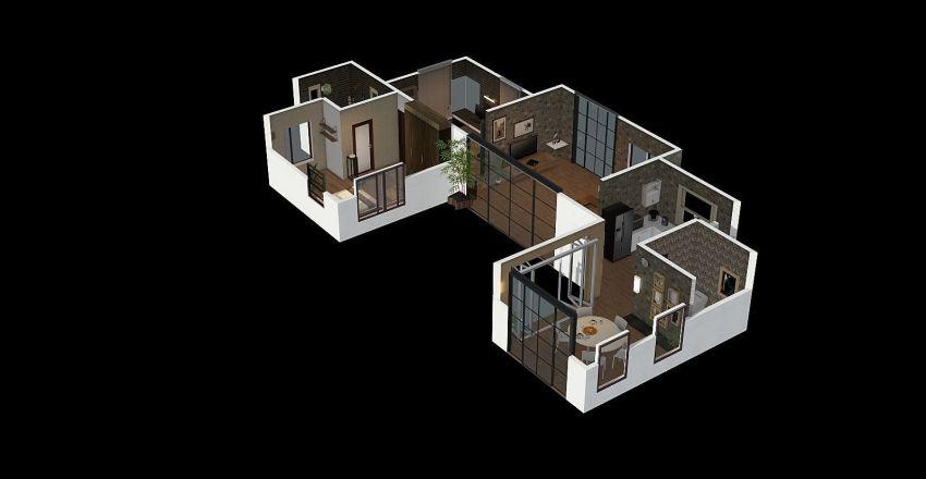 unda Ver.4 Interior Design Render