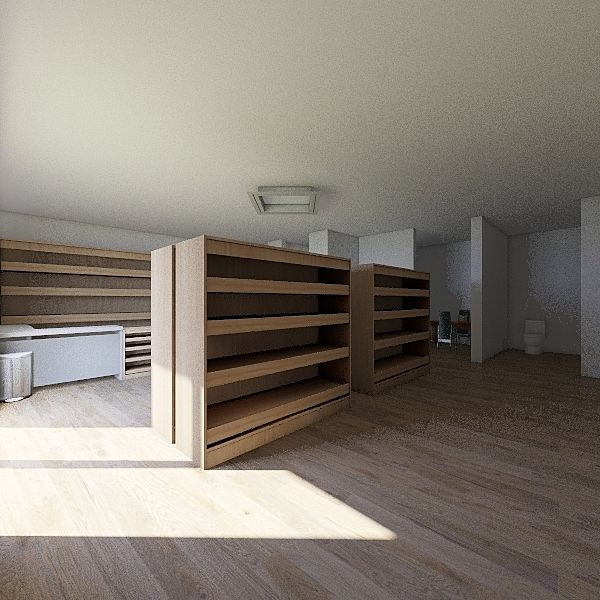 planta - farmácia Interior Design Render