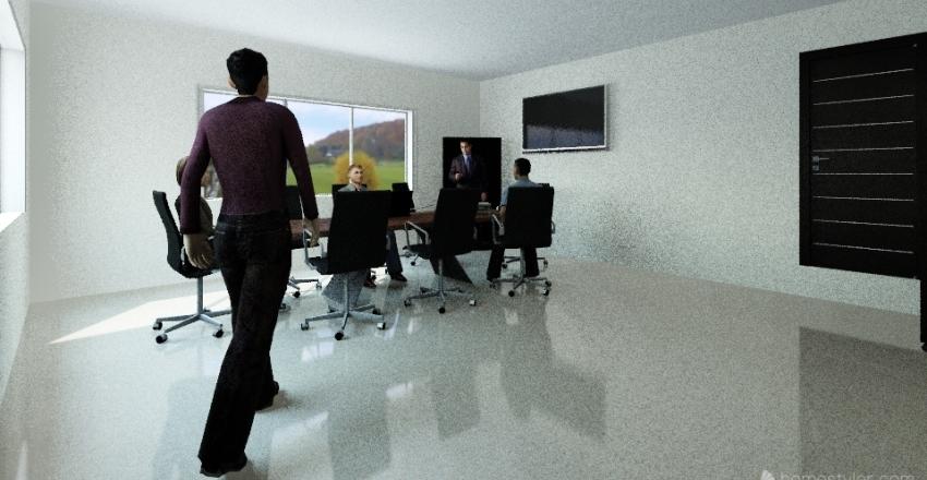 Sala de reunion Interior Design Render