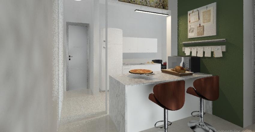 We Liberdade Interior Design Render