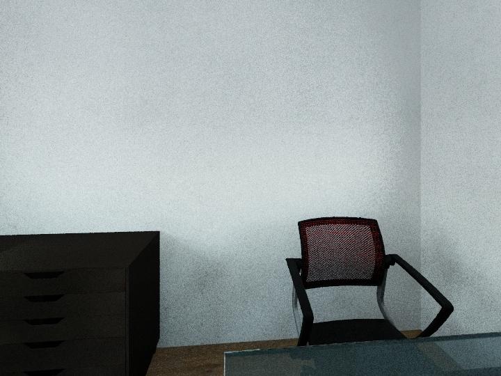IT Office Interior Design Render