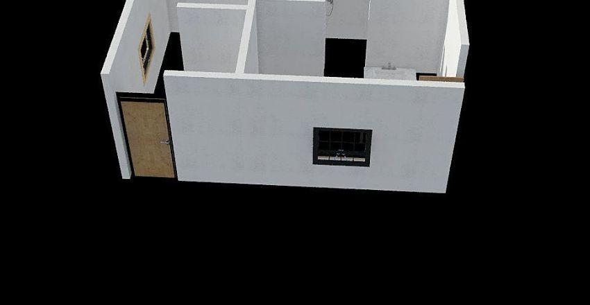 VESTIARIO FUTEBOL Interior Design Render