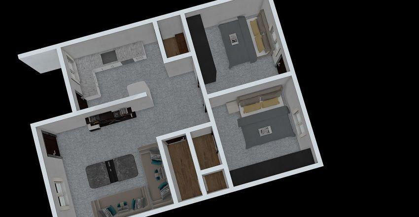 MItinbhai Home Interior Design Render