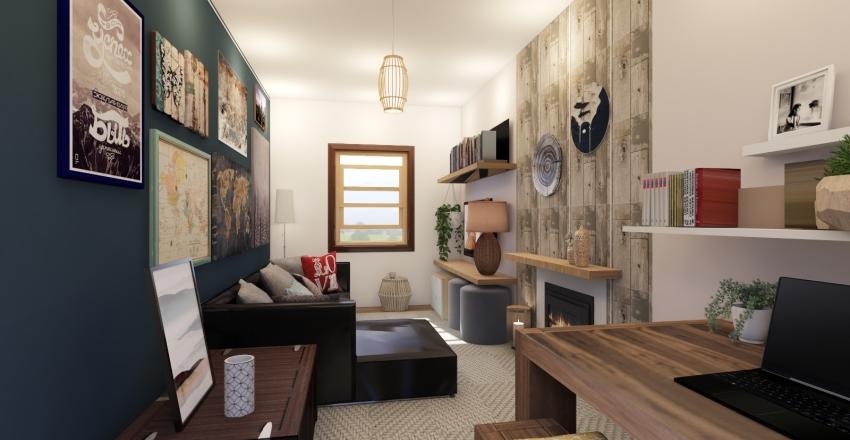 Lucy's House Interior Design Render