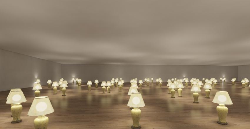 china light! Interior Design Render