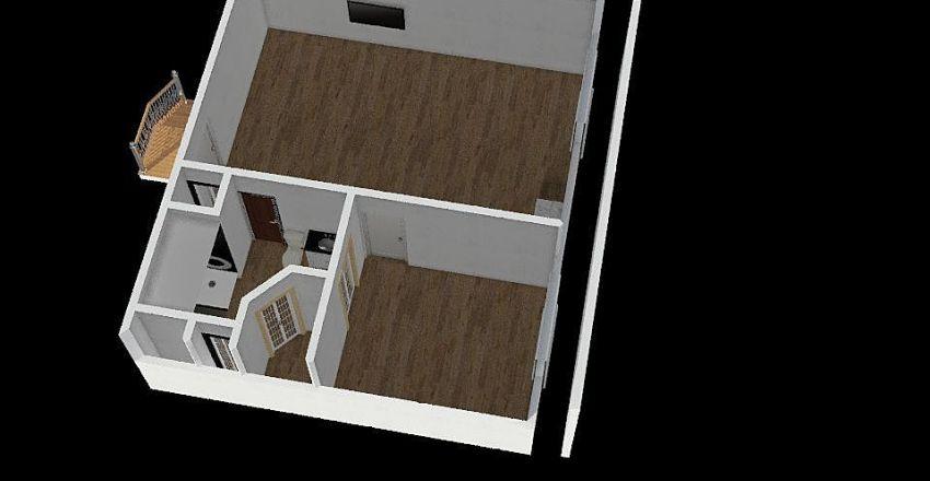 Garage apartment 1.2 Interior Design Render