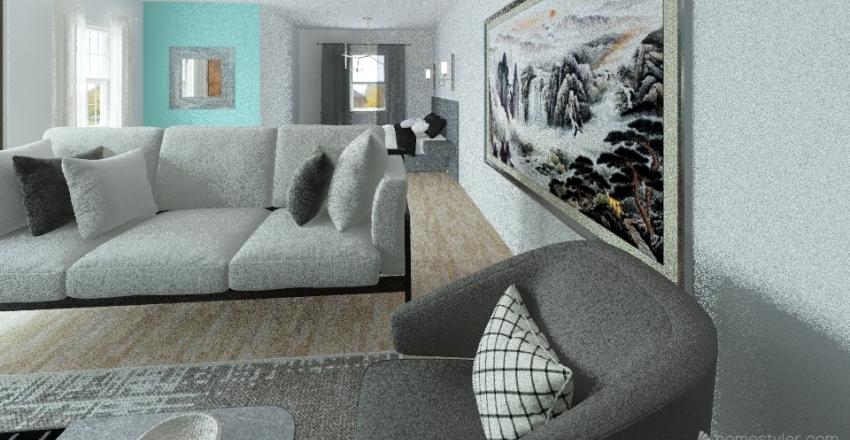 Puso107 bedroom design  Interior Design Render