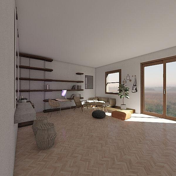Manhbi Interior Design Render