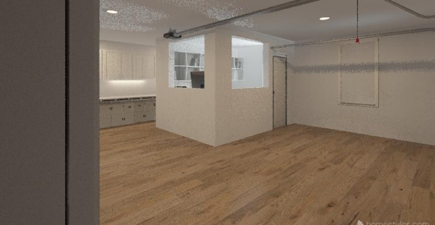 Garage Worcester Interior Design Render